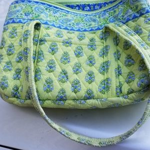 Vera Bradley yellow and Blue Cloth Bag